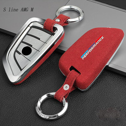 Car Styling Key Rings Protection Cover Stickers For BMW X1 x5 x6 F15 F16 E84 G10 G30 G38 Protect Shell Interior auto Accessories