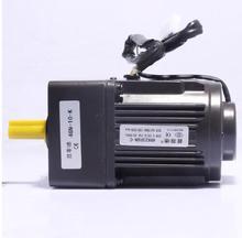 220V 25W Adjustable Speed Motor AC Gear Motor Reversible Motor with Controller