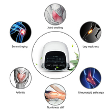LASTEK Electronic Knee Pain Relief 808nm Laser Device Treatment for Knee Joint Arthritis Massager lastek joint arthritis and knee pain treatment massager with far infrared thermal therapy home use device