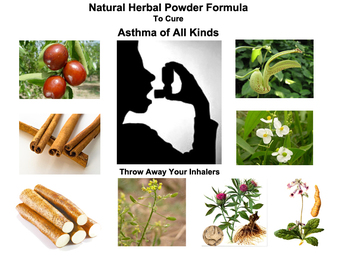 Natural Herbal Powder Formula To Cure Asthma of All Kinds