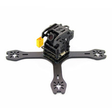 HOBBYMATE X130 FPV Racing Drone Mini Quadcopter Carbon Fiber Frame Kit Support 1306 1806 motors