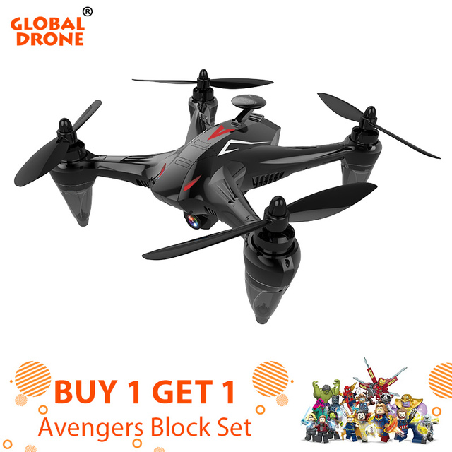 Global Drone GW198 Professional GPS Drone with 5G WiFi FPV Camera Follow Me Upgrade Quadrocopter Brushless RC Dron