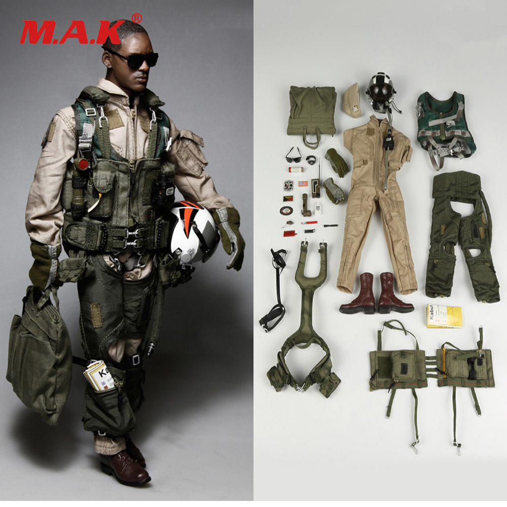1042-S 1/6 U.S. NAVY VFA-41 Aviation Solider Figure Black Knights Uniform Set Accessories for 12 Collectible Action Figure ...
