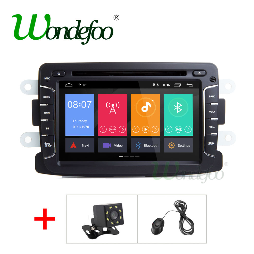 IPS 2GB RAM Android 8 1 Quad Core Car DVD PLAYER for Dacia Sandero Duster Captur