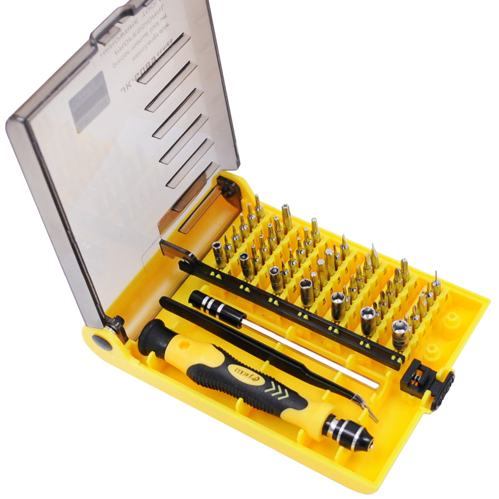 Free shipping New Original Brand 45 in 1 Precision Screwdriver Cell Phone Repair Tool Set Kitchen Garden MIni Magnetic tools Kit