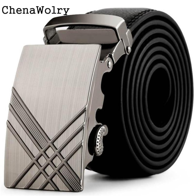 ChenaWolry 2016 Chaude 1 PC Accessoire De Mode De Luxe Hommes En Cuir  Automatique Boucle Ceintures De Mode Taille Sangle Ceinture Ceinture  Octobre 12 de926fdb726