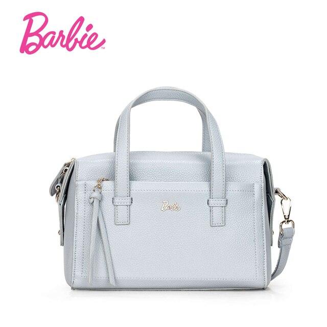 dcbe54b3870e0 Barbie 2017 Beliebte Frauen Umhängetasche einfache Handtasche Moderne Tasche  Cross body Taschen Weibliche Trapeze Tasche mit