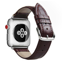 High quality Leather loop for iWatch 4 40mm 44mm Sports Strap Single Tour band for Apple watch 42mm 38mm Series 1&2&3(China)