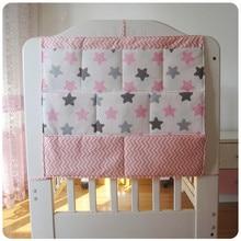 Besplatna dostava beba posteljina postavlja dječji krevet vješanje torba za tiskane bebe posteljinu boce pelene raznovrstan višeslojni torbice torbu