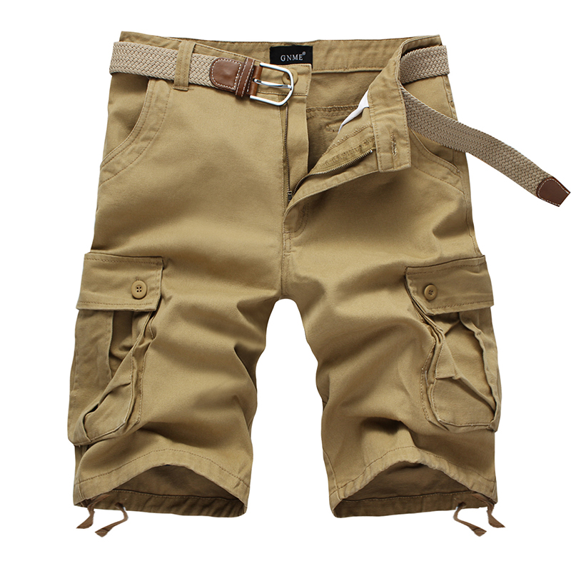 MENS MILITARY-STYLE 100/% COTTON SOLID COLOR CARGO SHORTS SIZE 30-54 S//#27S
