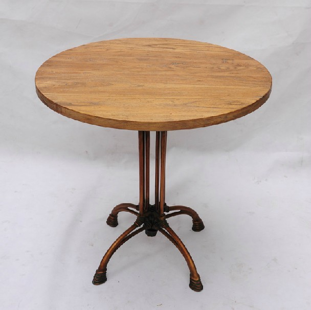 French Mediterranean Hob Do The Old Small Round Table / Leisure Table / Coffee  Shop Recommended