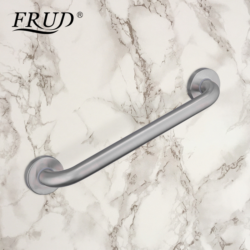 FRUD Grab Bar Satinless Steel Bathroom Safety Accessories Handle Rail Zuignap voor Douche Veiligheid Cup Handvat Grab Bar