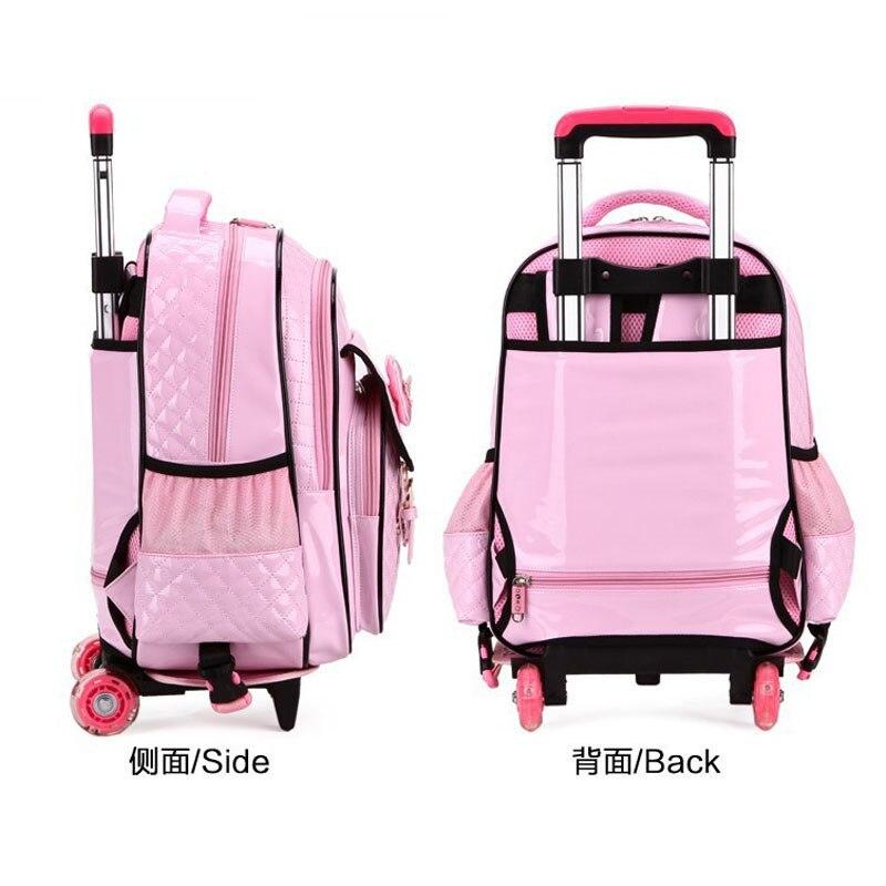 Girls Rolling Backpacks For School | Backpack God