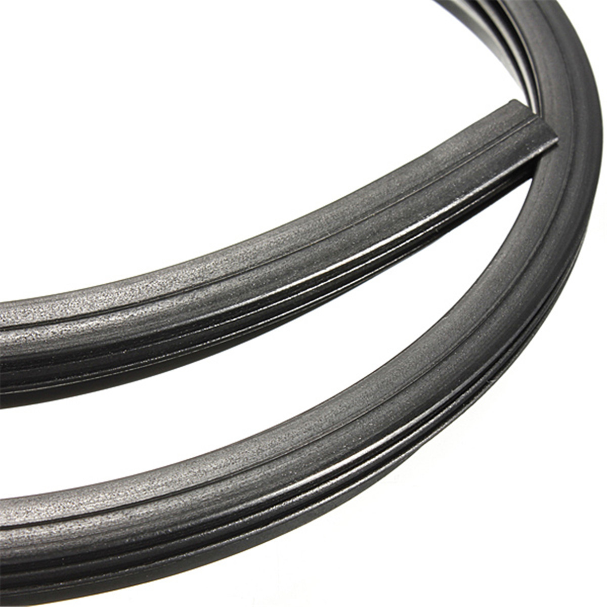 """2PCS 24/"""" 6mm Cut to Size Universal Car Replacement Wiper Blade Refill Rubber"""
