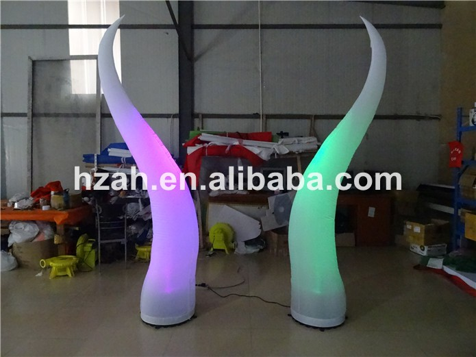 Colorful Inflatable LED Light Column Wedding Decor wedding decoration inflatable column led lighted inflatable column