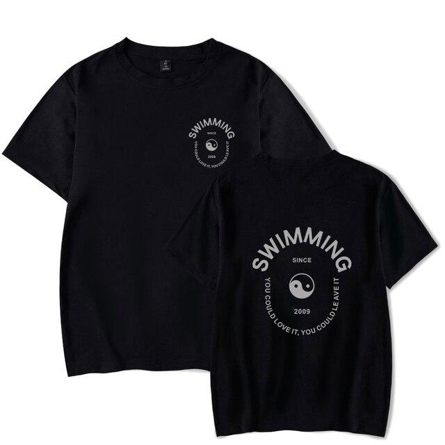 7d8478055 2018 Mac Miller Swimming T-shirt Fashion Cool T Shirt Women/men Cotton  harajuku Casual Funny Female Fashion Hip Hop clothes
