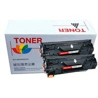 COAAP 83A CF283A CF283 A CF 283A (2-Pack Black) Тонер-картридж совместимый для HP LaserJet Pro MFP M127fn/M12fw/125NW