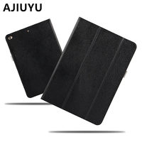 AJIUYU Case Cowhide For Apple IPad 9 7 Inch New 2017 Cases Protective Smart Cover Protector