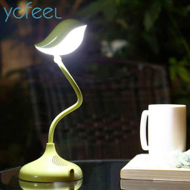 [YGFEEL] Table Lamps Creative Lovely Bird Gift Reading Light Dimmable 360 Degree Adjustment With USB DC5V 500MA Lithium Battery