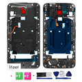 Original Middle Plate Frame back gray  For Motorola Moto X Style XT1575, XT1572