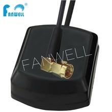 FW-119-SMA-3M 50pcs*High Quality Ceramic Patch Active Marine 1575.42MHz Outdoor Electric Universal Car GPS SMA Antenna