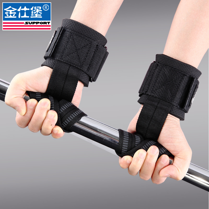 Tool Parts Special Section Power Belt Grip Force Gym Support Fitness Gloves Sports Gloves Wristband Lever Pull Band