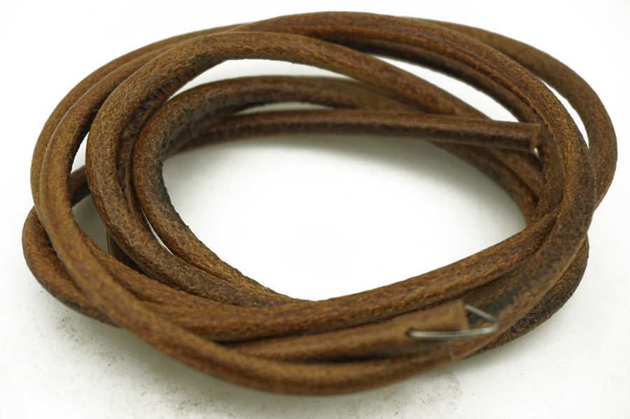 183cm cowhide leather drive belt to fit most