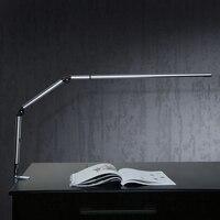 Пособия по немецкому языку Дизайн настольная лампа LED Клип сплав Alumimun Stretch Arm работает лампа 3000 К 5500 К SMD3014 светодиодный чип глаз защитить LED Н