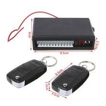 Système universel d'alarme de voiture 12V, Kit Central de verrouillage de porte, système d'entrée sans clé pour véhicule avec télécommandes