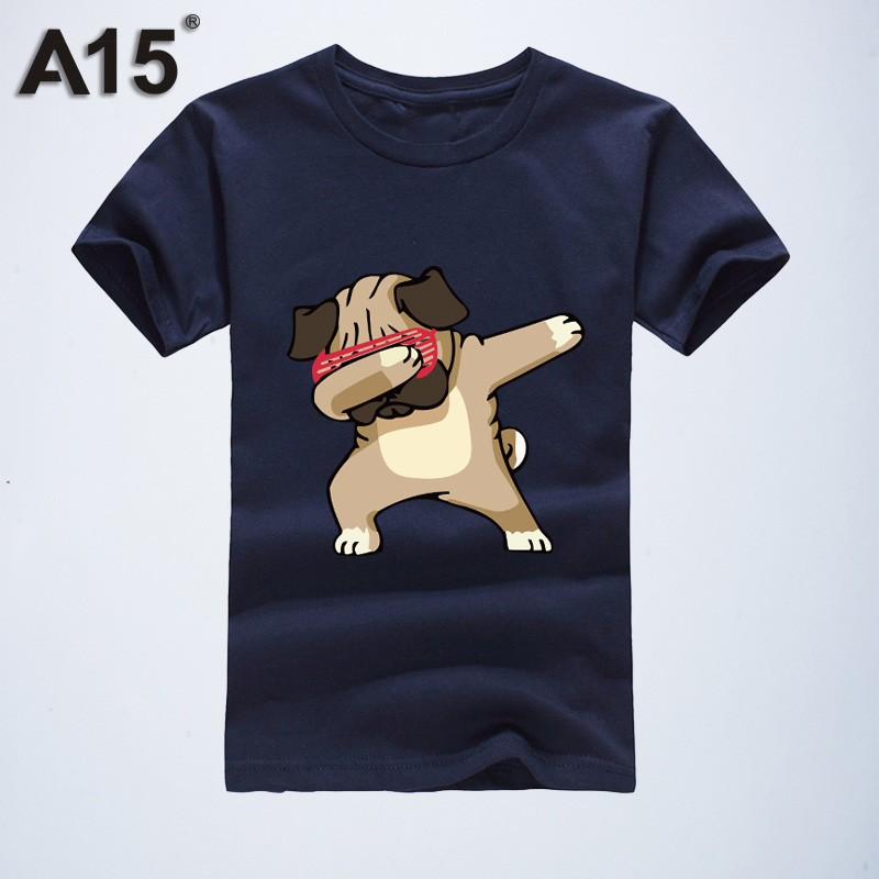 A15 Brand 2019 Summer Cute Children Clothing For Kids Girl Short Sleeve Cartoon Print 3d T Shirts Tops Boys Clothes 8 10 12 Year(China)