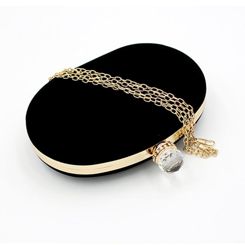De Suede Design À D'oie Mariage Vintage D'oeuf Sac Pour Madame Banquet Femmes Les Main Unique pu Simple Noir Forme Soirée Embrayages D'embrayage UgqwRZfOx