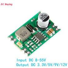 DC-DC Step Down Power Supply Module Buck Regulated Board 2A Input 8-55V Output DC to DC 3.3V/5V/9V/1