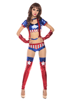 New Design Cheap Sexy Super Girls Costume 3S1726 Free Shipping Halloween Cosplay Costume