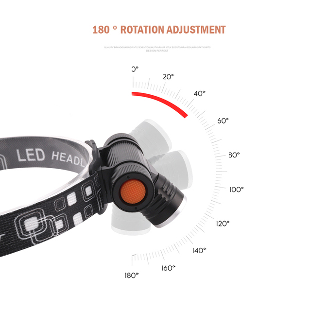 xm l2 led head lamp rechargeable headlamps light head led flashlight zoomble waterproof usb headlight head torch use 18650 4
