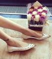 2017 Nova moda melissa jelly sapatos sandálias flat mulheres Transparente cristal peep toe mulheres sapatos de praia verão mulher