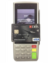 Wireless POS terminal Support with Magnetic card/Smart IC card and NFC