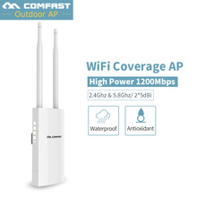 comfast 150Mbps Wireless CPE Wifi Repeater 500mW Signal Amplifier Long-Range Outdoor