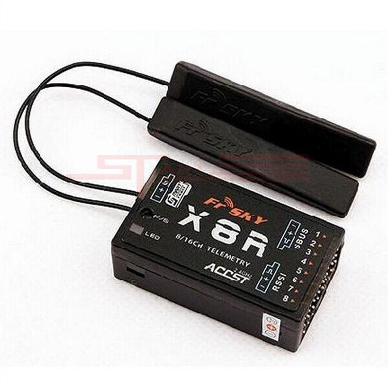 FrSky 2.4G S. Port 8/16ch télémétrie récepteur X8R pour Taranis X9D-PCB antenne faible frais d'expédition