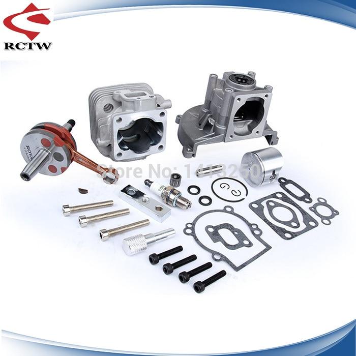 2 hole upgrade 4 hole 30 5cc engine set TS H85161 with cylinder head for baja