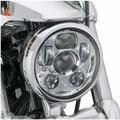 """5 3/4 """"мотоцикл светодиодные фары h4 высокий низкий пучок 5.75'' дюймовый фару Светодиодный Moto Фар объектив проектора daymaker Для harley Дэвисон"""