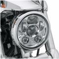 "5 3/4 ""faro de la motocicleta led faro h4 luz de cruce de alta 5.75'' pulgadas led moto faro lente del proyector daymaker para harley davison"