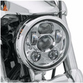 "5 3/4"" motorcycle headlight led h4 high low beam 5.75'' inch faro Led Moto Headlight projector lens daymaker For harley Davison"