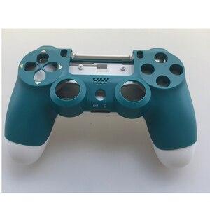 Image 2 - PS4 PRO denetleyici tam Set konut Case Shell Sony PlayStation 4 Pro için JDM 040 JDS 040 Gen 2th V2 kapak alp yeşil cilt seti
