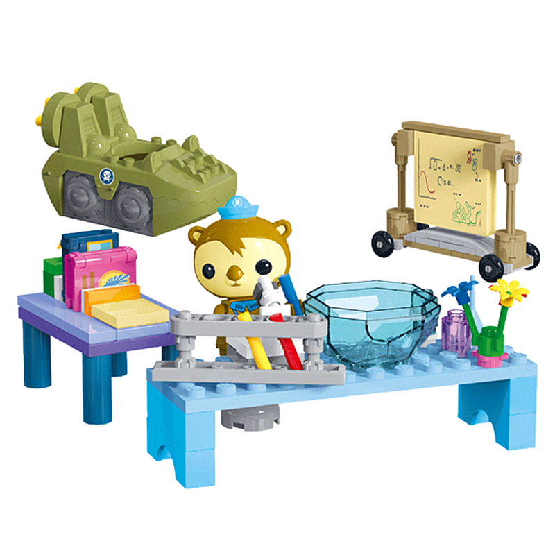 Octonauts GUP-K Shellington Biological Experiments Building Blocks Sets Bricks Classic Model Kids Toys Gift Compatible Legoings