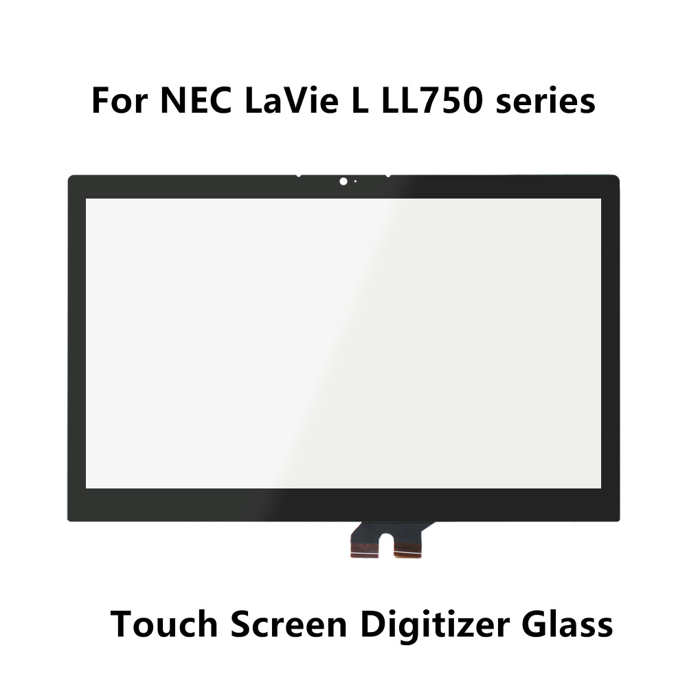 Touchscreen Digitizer Front Panel Glass Replacement For NEC LaVie L LL750 series L LL750/SSR PC-LL750SSR L LL750/SSG PC-LL750SSG 11 1v 42wh 3760mah pc vp bp93 op 570 77023 laptop battery for nec for lavie z lz650 lz750
