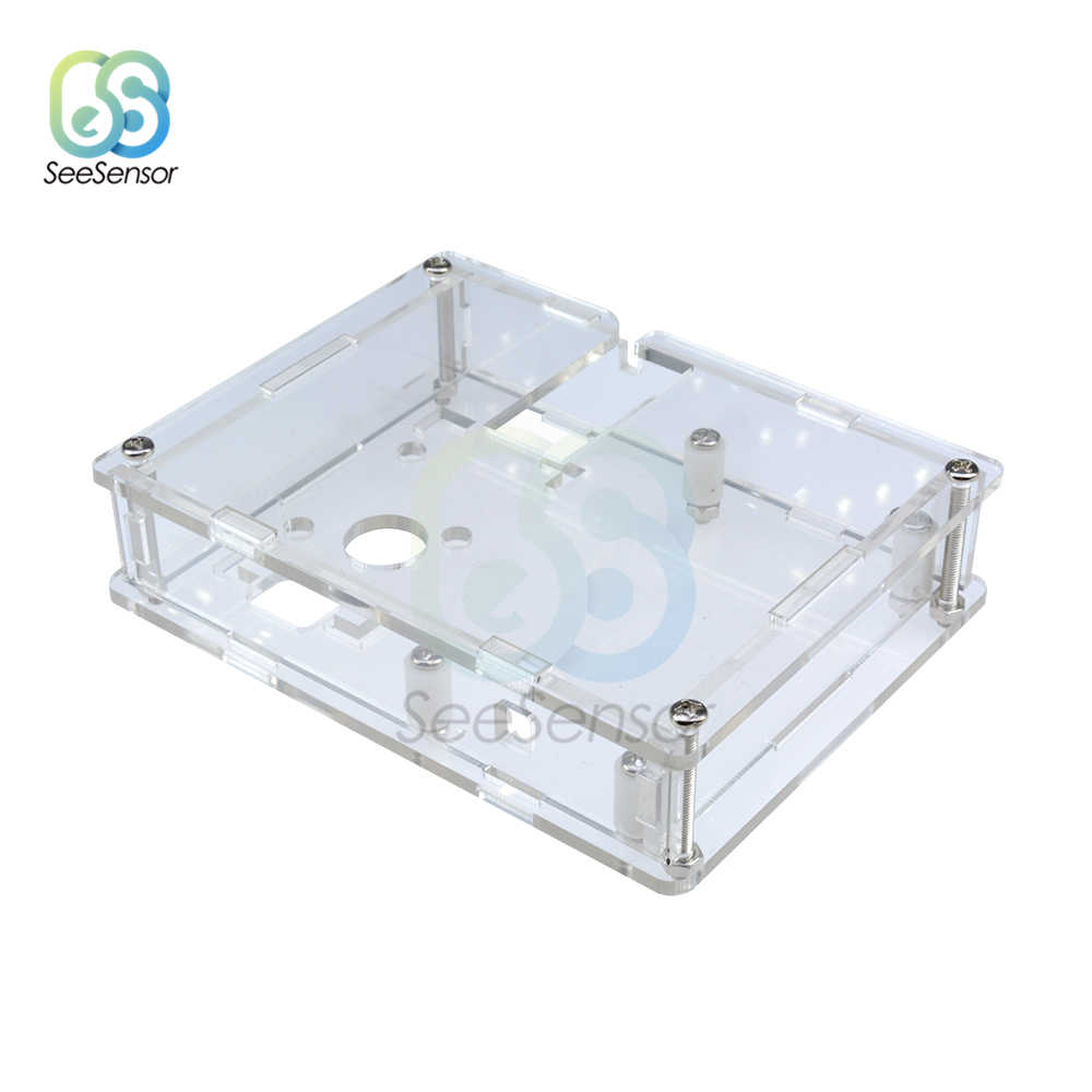 Transparant Acryl Case Shell Box Voor LCR-T4 ESR Transistor Tester Capaciteit