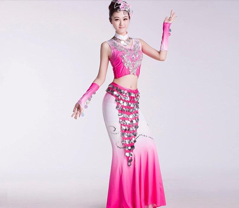 Encantador Vestido De Plumas De Pavo Real Del Baile Foto - Ideas de ...