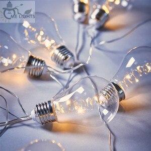 Винтажные лампочки 7M 20, светодиодные гирлянды, гирлянды, вечерние гирлянды для дома, для мероприятий, сада, вечерние, рождественские, свадеб...