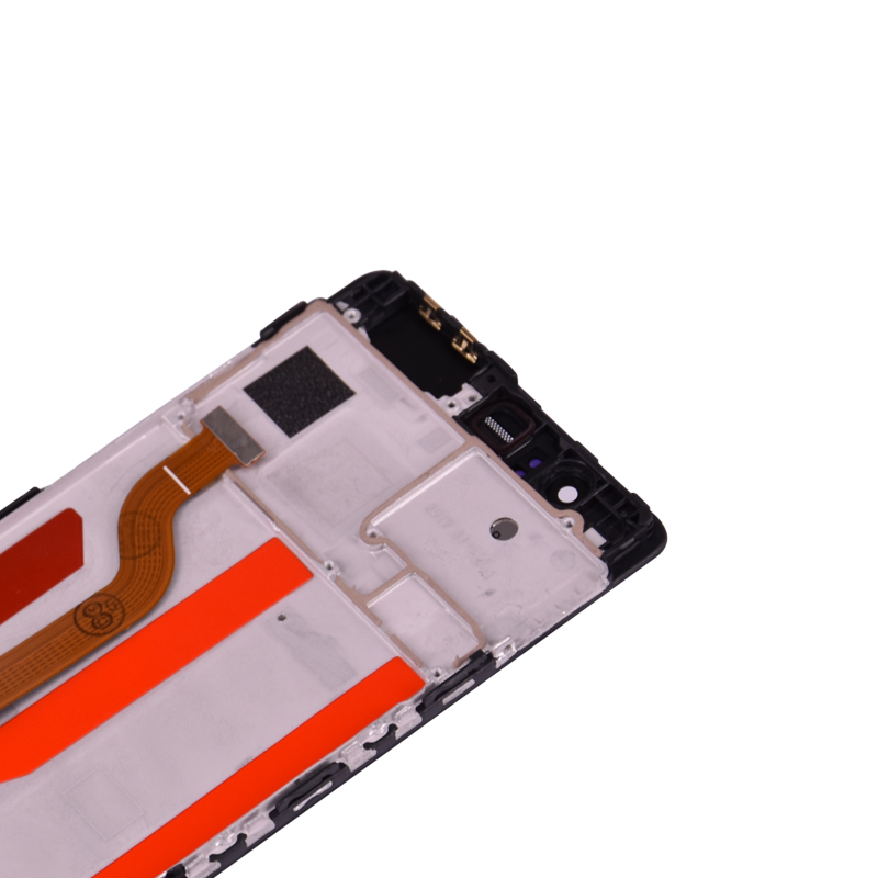 HTB17ATCmyMnBKNjSZFzq6A qVXaP Original 5.2'' For Huawei P9 EVA-L09 L19 L29 LCD Display With Touch Screen Digitizer Assembly with frame free shipping