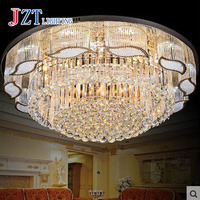 T New Crystal Indoor lights with LED chips Luxury European style lamps For Foyer living room Circular Best Prices!!